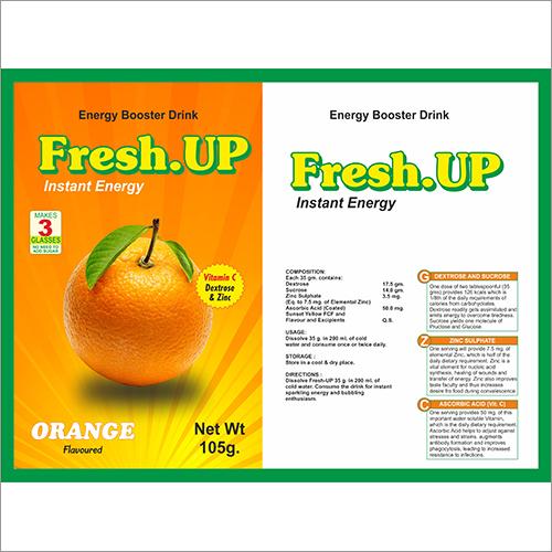 Fresh Up Energy Drink Powder