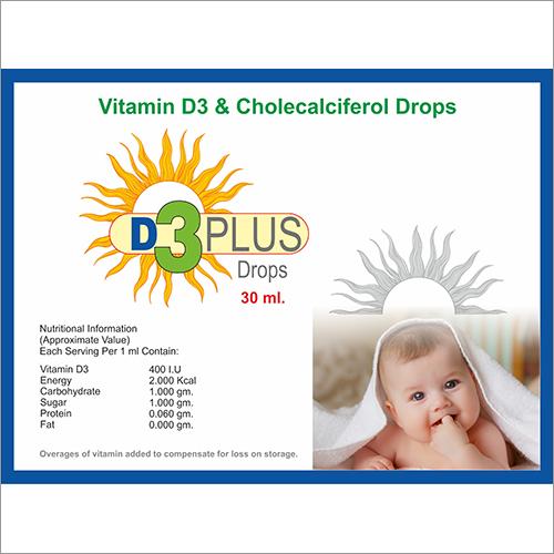 Vitamin D3 Drops Certifications: Iso 9001:2015