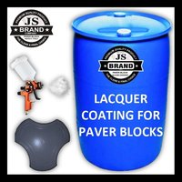 Lacquer Coating For Paver Blocks