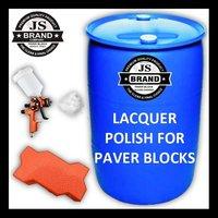 Lacquer Polish for Paver Blocks