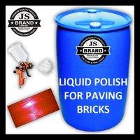 Liquid Polish for Paving Bricks