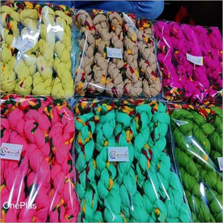 Cotton Printed Samosa Lace Dupatta