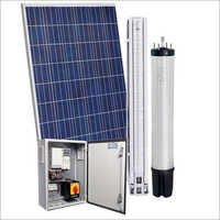 Solar Submersible Pump And Motor