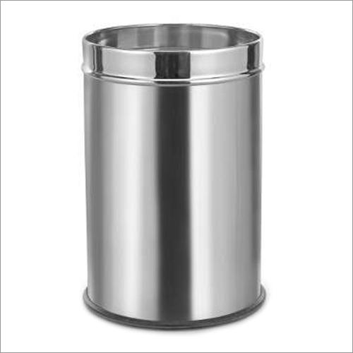 Stainless Steel Plain Industrial Dustbin