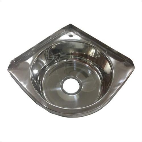 Stainless Steel Corner Wash Basin