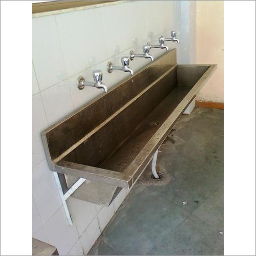 Stainless Steel Multi-Station Wash Up Sink