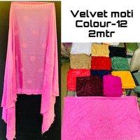 Velvet Moti Work Dupatta