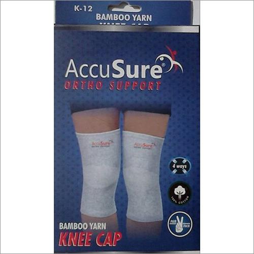 AccuSure Ortho Support Bamboo Yarn Knee Cap