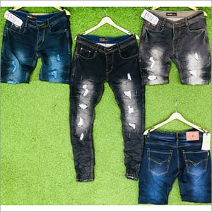Mens Skinfit Ripped Jeans