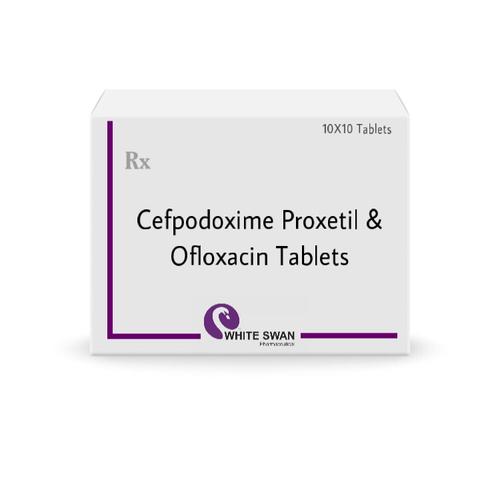 Cefpodoxime & Ofloxacin Tablets