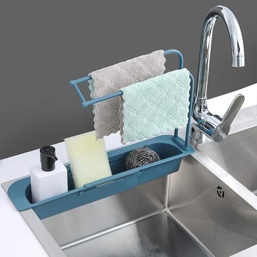 Sink Organizer Holder Dish Cloth Hanger for Kitchen
