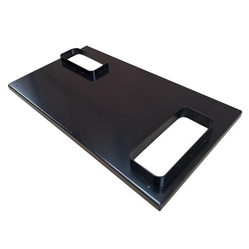 Metal Cover Laser Cut Bend & Powder Coat-A