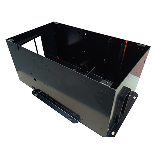 Metal Box Laser Cut, Bend, Rivet, Nutsert, Weld & Powder Coat-B