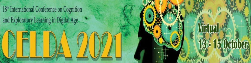 18th International Conference on Cognition and Exploratory Learning in Digital Age (CELDA 2021)