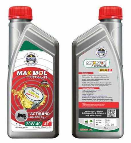 Maxmol Bike Lubricant 20W-40 4T