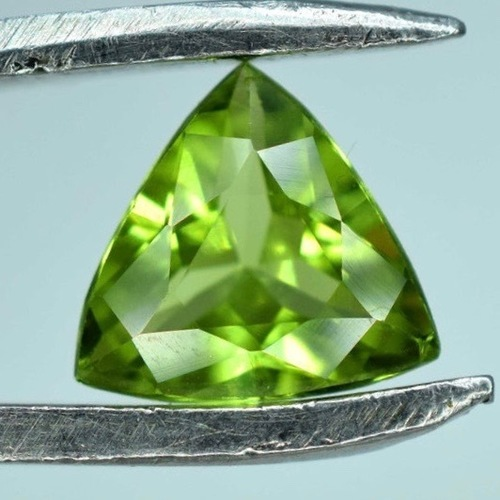 4mm Peridot Faceted Trillion Loose Gemstones