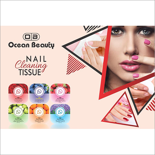 Ocean Beauty Nail Cleaning Tissue