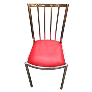 Metal Frame Cafe Chair