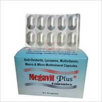 Anti-Oxidants Lycopene Multivitamin Macro And Micro Multimineral Capsules