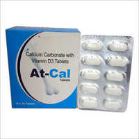 Calcium Carbonate With Vitamin D3 Tablets