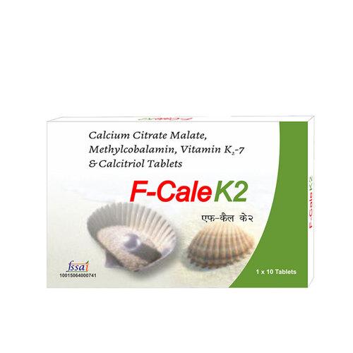 Calcium Citrate Malate Methylcobalamin Vitamin K2-7 And Calcitriol Tablets