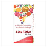 Multivitamins Multimineral Antioxidant And Iron Softgel Capsules