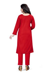 Ladies Stylish Cotton Kurtis With Pants