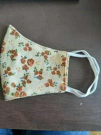 Cotton Printed Face Mask