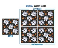 600 X 600 Mm 3d Glossy Series Porcelain Tiles
