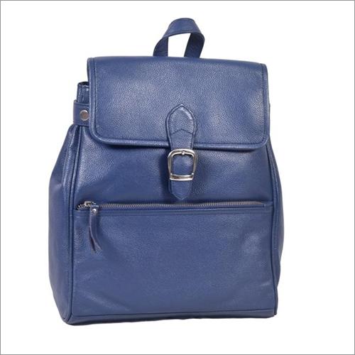 Ladies Leather Backpack Bag