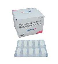 Myo Inositol & Metformin Hydrochloride (Sr) Tablets.