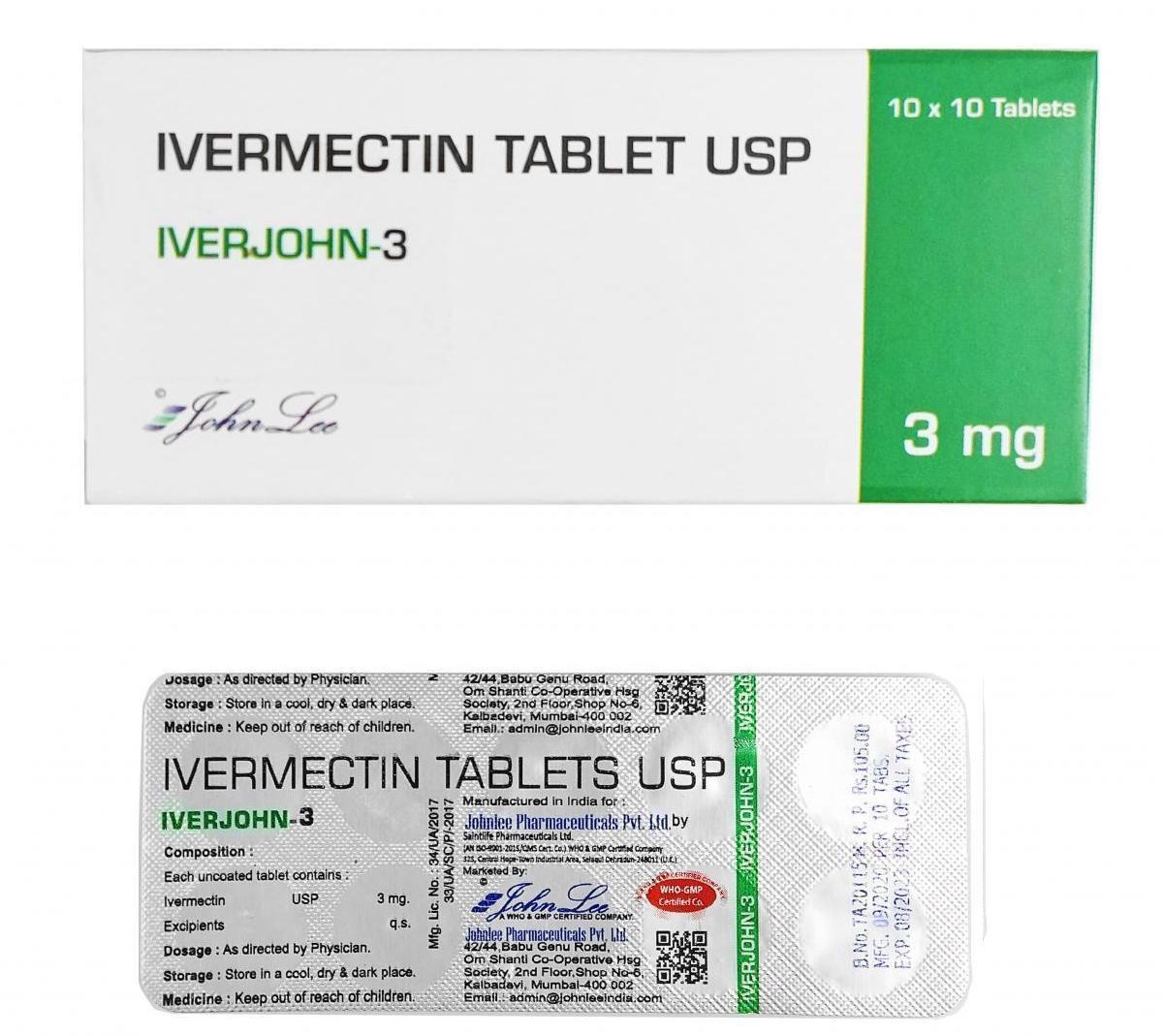 Ivermectin USP 3MG