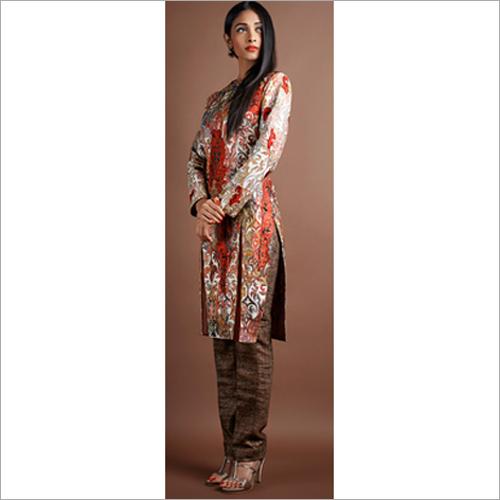 Ladies Designer Kurta With Pant Set