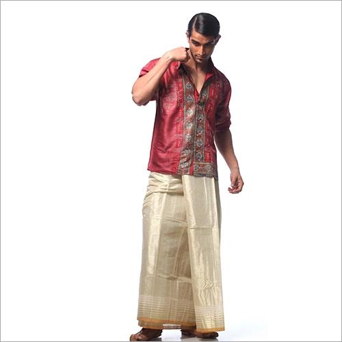 Mens Short Kurta With Lungi