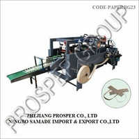 High Speed Twist Rope And Flat Belt Handle Making Machine