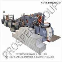 High Speed Roll Fed Paper Bag Machine