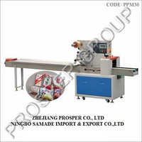 Film From Top Pillow Packing Machine