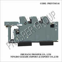 3 In 1 Offset Printing Machine