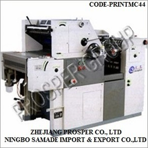 Model PPR 56A Printing Machine