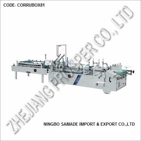 Industrial Corrugated Box Making Machine