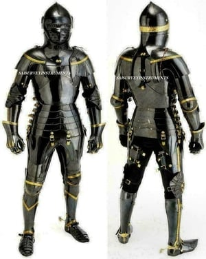Halloween Medieval Suit of Armor Full Body Armour Suit Knight Suit Of Armour