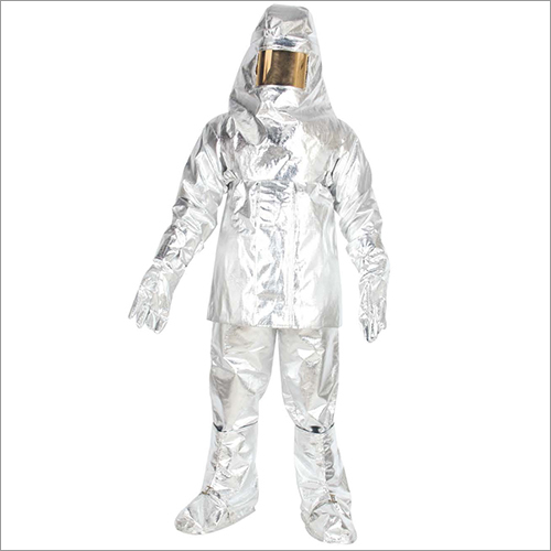 Aluminised Fire Proximity Protective Suit