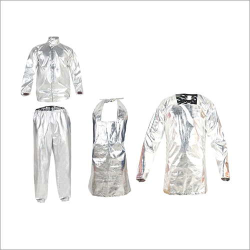 Single Layer Aluminised Molten Metal Protection Clothing
