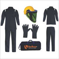 Flame Resistant Electric Arc Protection Safety Clothing Kit
