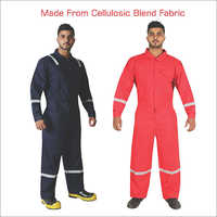 Cellulosic Blend Fabric Extremely Breathable Coverall