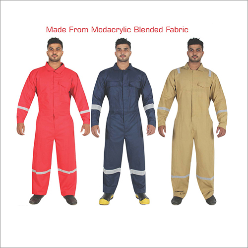 FR Modacrylic Blended Fabric Coverall