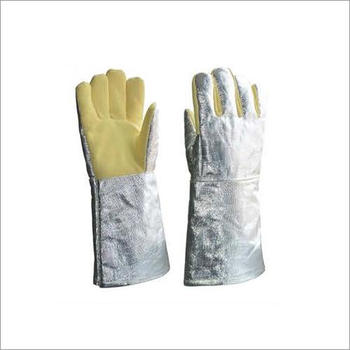 Aluminised Para Aramid Gloves