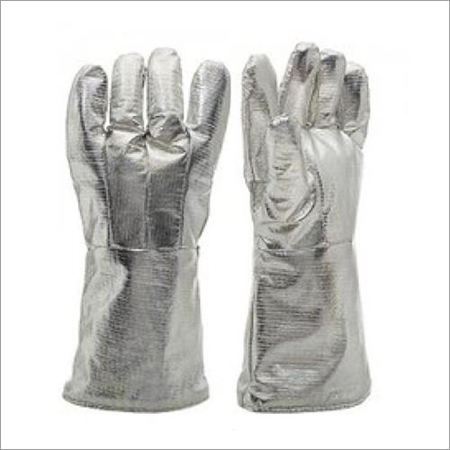 Aluminised Gloves