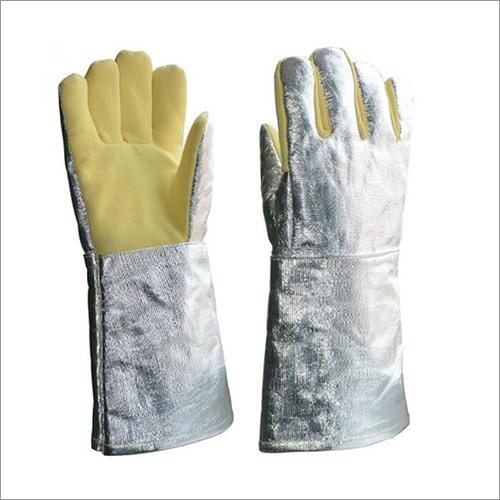 Aluminised Para - Aramid Gloves