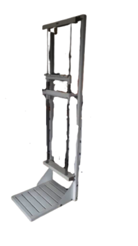 Full Length X-Ray Chest Stand  For Complete Legs And Knee